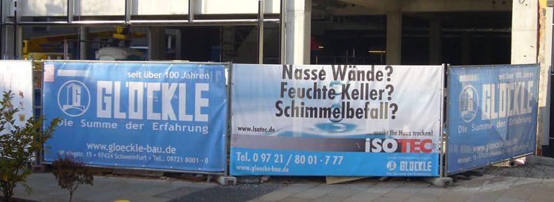 Bauzaunbanner Druck Mesh Gitternetzbanner Premium B1