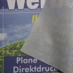Meshbanner Gitternetzplane PVC-Mesh Premium B1 Ca. 350 G/m²