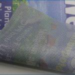 Mesh Banner Material Gitternetzplane PVC-Mesh 280 Premium B1